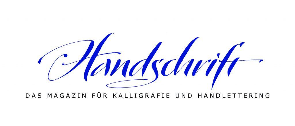 Das Logo Handschrift Magazin für Kalligrafie und Handlettering